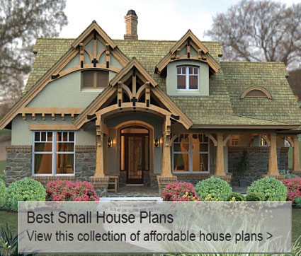 house plans home plans from better homes and gardens - Small French Country Cottage House Plans