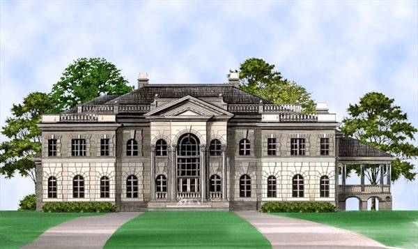 Fountainebleau House Plan