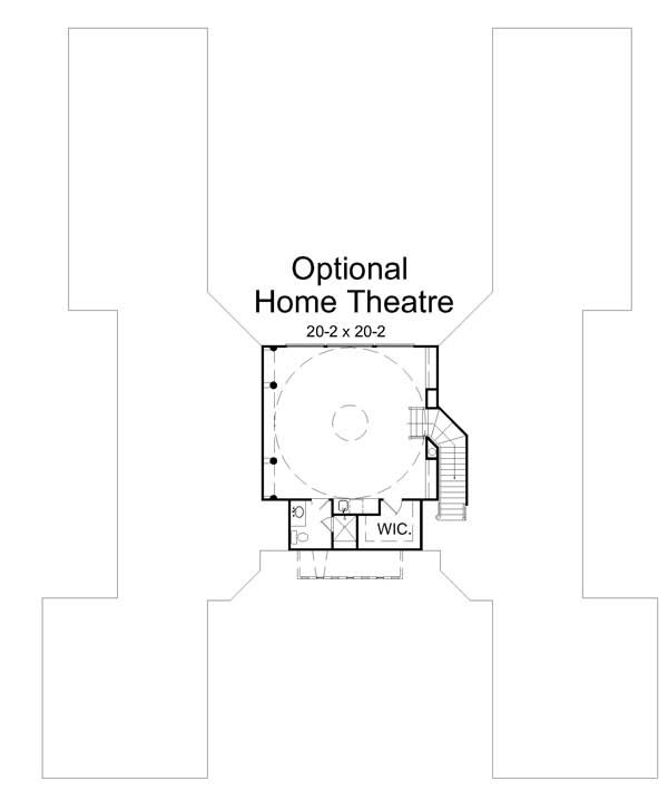 2nd Floor Plan image of Featured House Plan: BHG - 7725