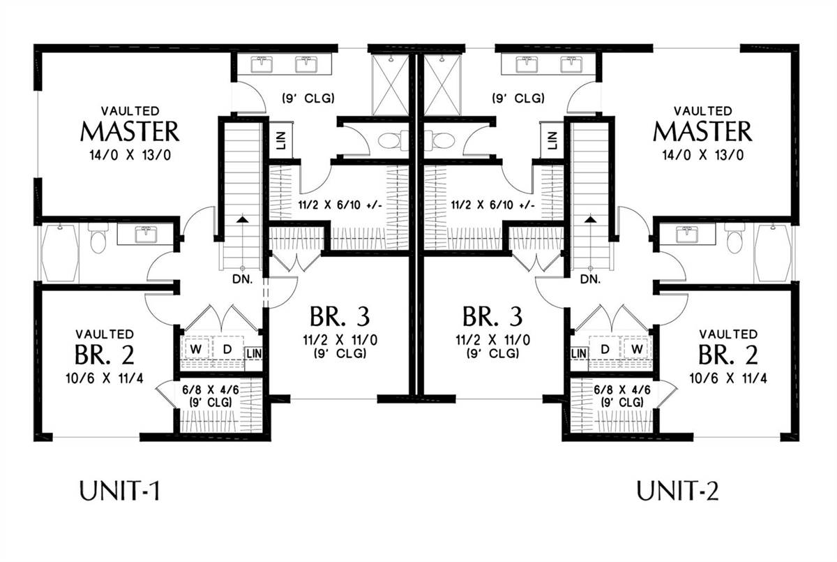 Upper Floor Plan image of Featured House Plan: BHG - 7224