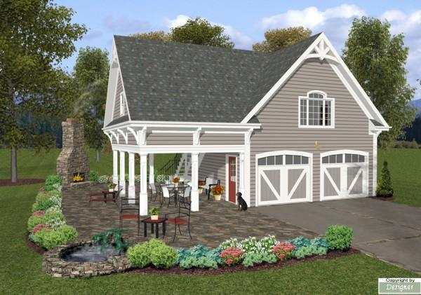 The Pickwick Carriage House House Plan