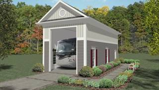 image of RV Garage One House Plan