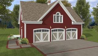 image of Hudson Carriage House House Plan