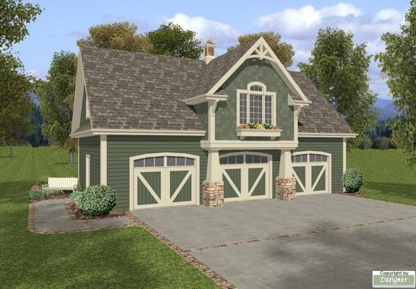 The Belmont Carriage House House Plan