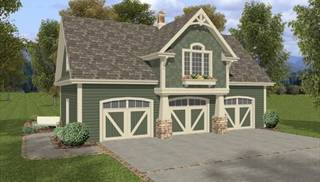 image of The Belmont Carriage House House Plan