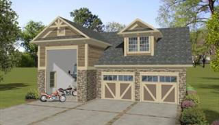 image of Boat-RV Garage House Plan