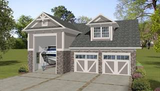 image of Boat-RV Garage-Office House Plan