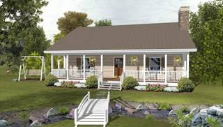 image of The Forest Lake Cottage House Plan