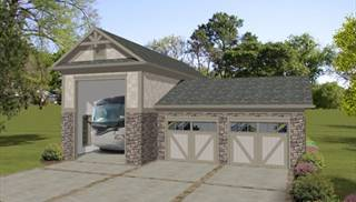 image of RV-Garage House Plan