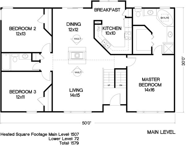 Floorplan image of Featured House Plan: BHG - 6286
