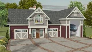 image of The Riverbend Carriage House House Plan