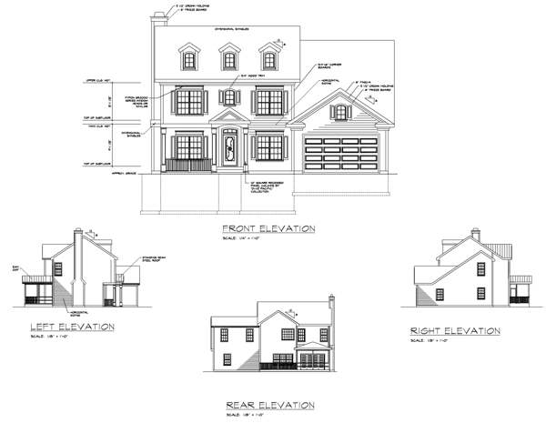 Rear Elevation image of Featured House Plan: BHG - 6238