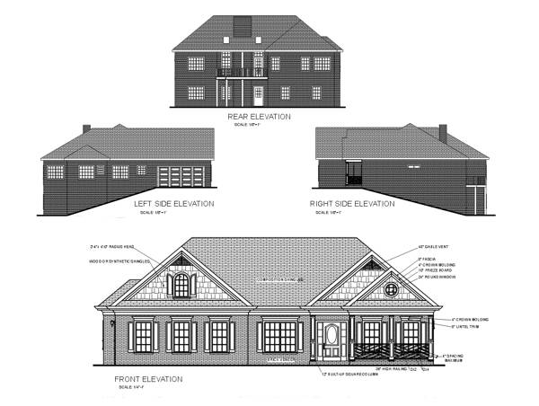 Rear Elevation image of Featured House Plan: BHG - 6254