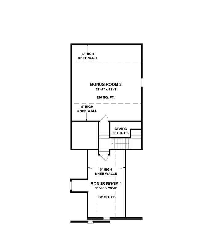 Floorplan image of Featured House Plan: BHG - 6923