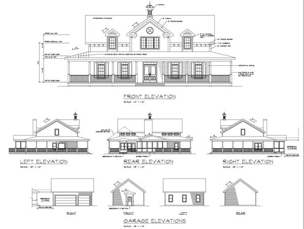 Rear Elevation image of Featured House Plan: BHG - 6245