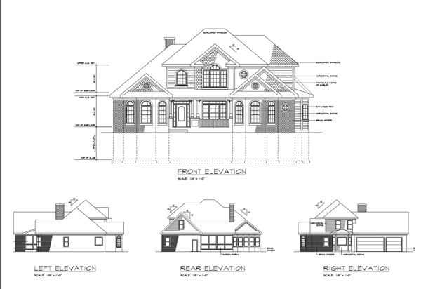 Rear Elevation image of Featured House Plan: BHG - 6247