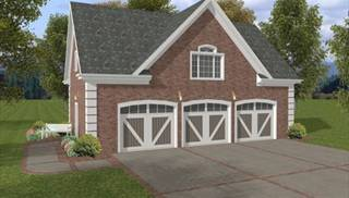 image of The Georgetown Carriage House House Plan