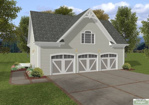 The Coventry Carriage House House Plan