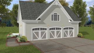 image of The Coventry Carriage House House Plan