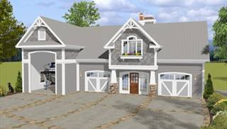 image of The Balmer Carriage House House Plan