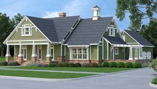 image of Stunning Craftsman - 1917 House Plan