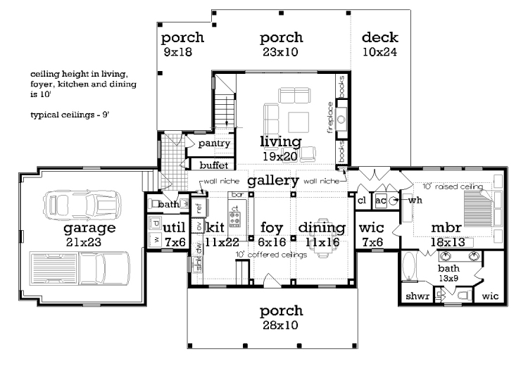 Featured House Plan Bhg 9759