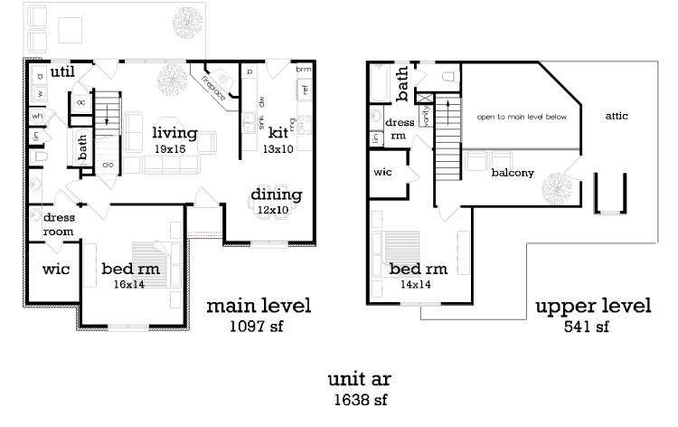 Unit AR image of Featured House Plan: BHG - 9195