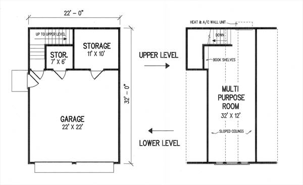 Floor Plans image of Featured House Plan: BHG - 2991