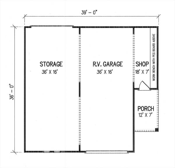 Floor Plan image of Featured House Plan: BHG - 2993