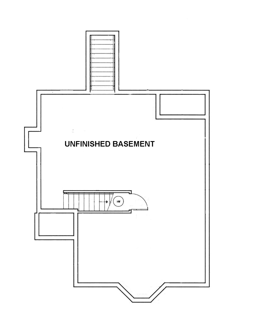 Optional Basement Foundation image of Featured House Plan: BHG - 3547