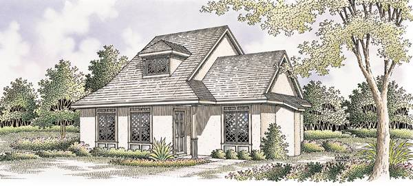 Doll house-1007 House Plan