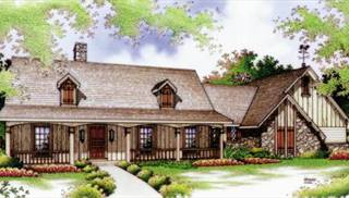image of Frontier - 1607 House Plan