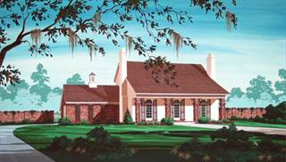 image of Belle Chasse - 1609 House Plan