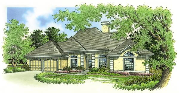Prentiss Commons-1828 House Plan