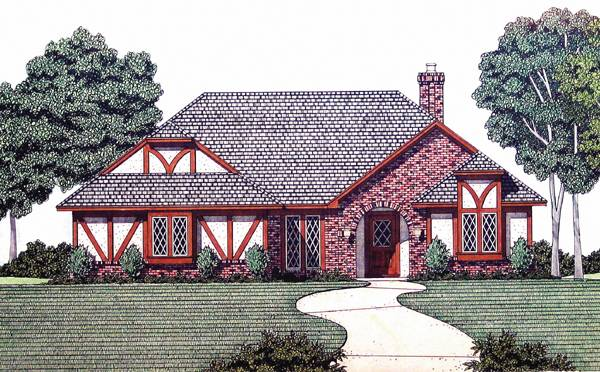 Somerset - 1912 House Plan