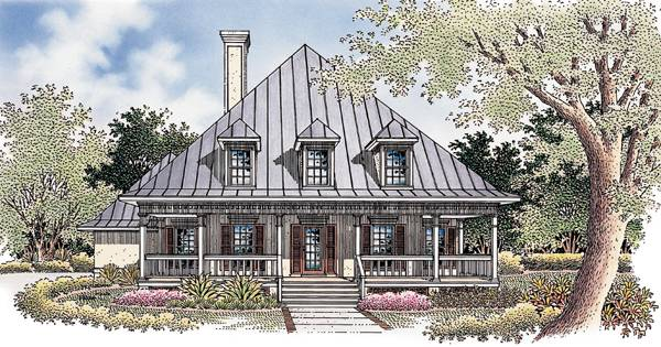 Destin Commons-1913 House Plan