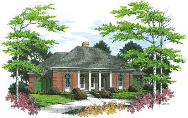 Auburn Green-2507 House Plan
