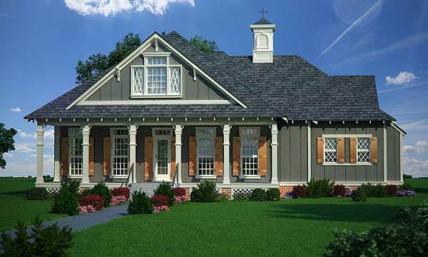 Oakland Park - 1520 House Plan