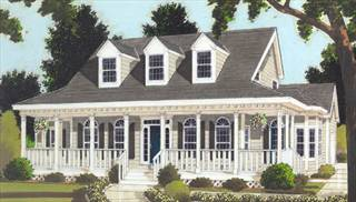image of Great wrap-around PORCH House Plan