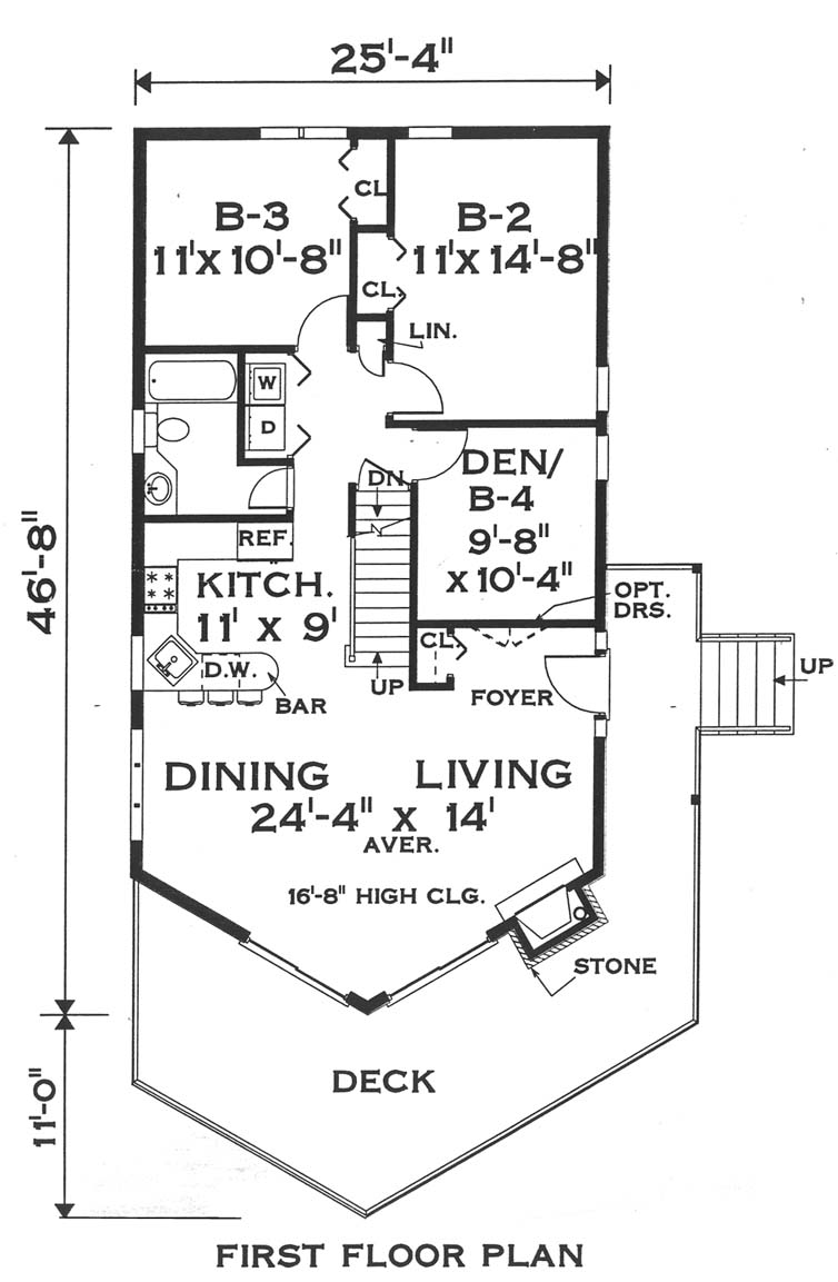 first floor image of Featured House Plan: BHG - 5631