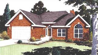 image of Charming Narrow Lot Home House Plan