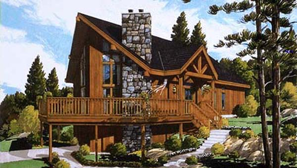 Chalet for Today House Plan