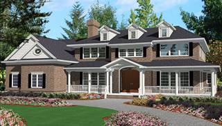 image of Grand Colonial House Plan