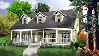 image of The Rustic Cottage House Plan