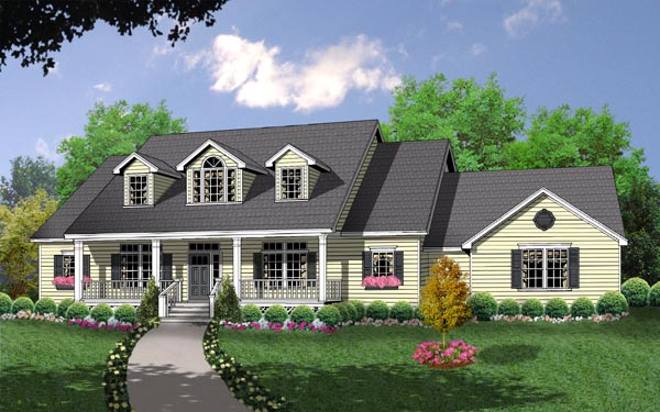 The Country Kitchen House Plan