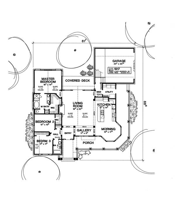 First Floor Plan image of Featured House Plan: BHG - 1775