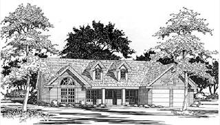 image of The Bluefield House Plan