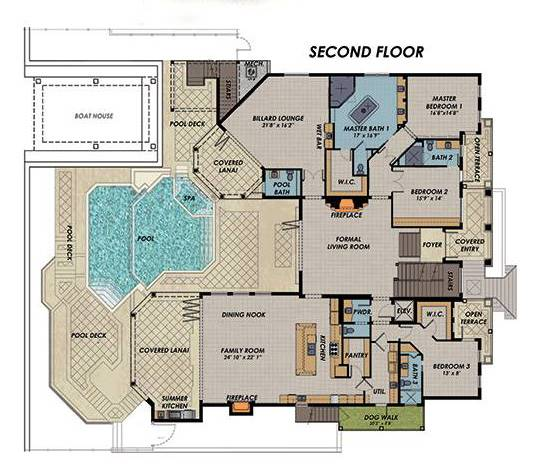 2nd Floor image of Featured House Plan: BHG - 7538