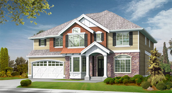 Laurelhurst House Plan