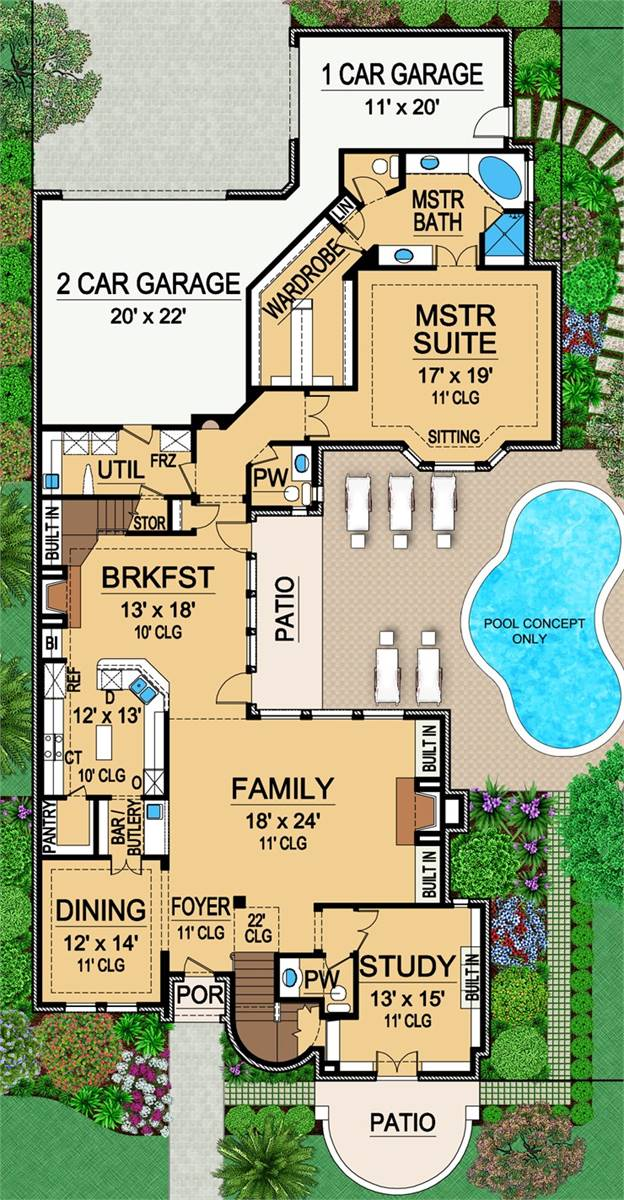 image of Featured House Plan: BHG - 4920